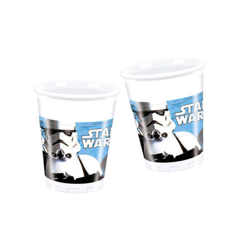Star Wars vasos - Pack 8 unid.