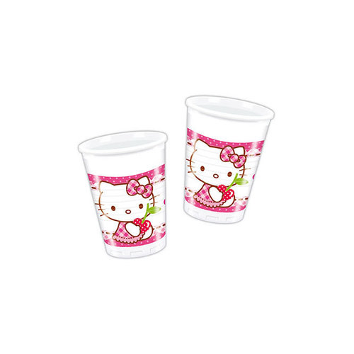 Hello Kitty vasos - Pack 8 unid.