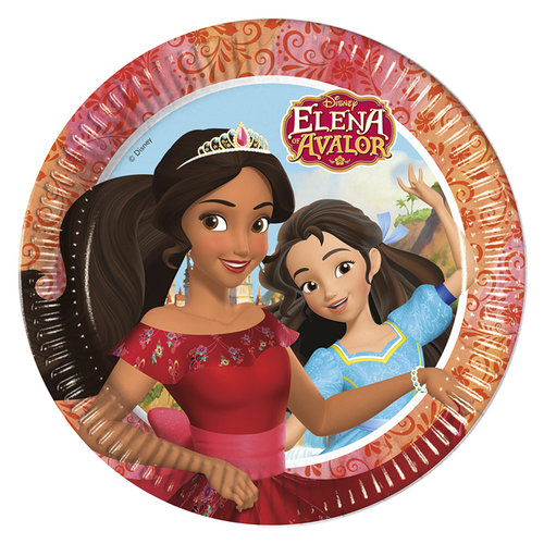 Elena de Avalor Platos 23 cm - Pack 8 unid.