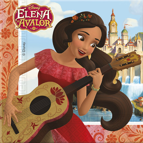 Elena de Avalor Servilletas - Pack 20 unid.