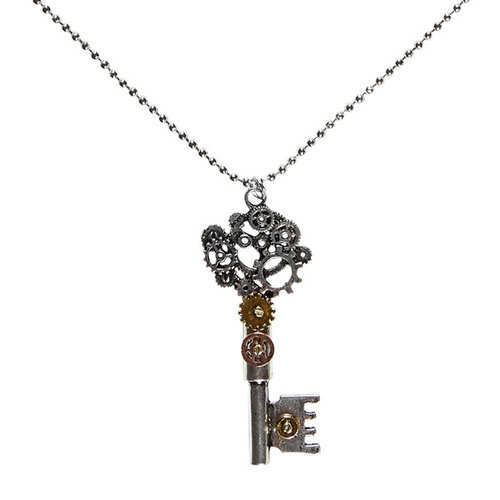 Collar Steampunk Llave