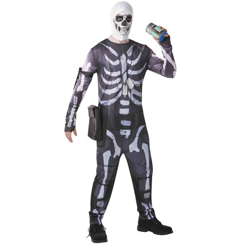 Disfraz de Fortnite Skull Trooper adulto para hombre