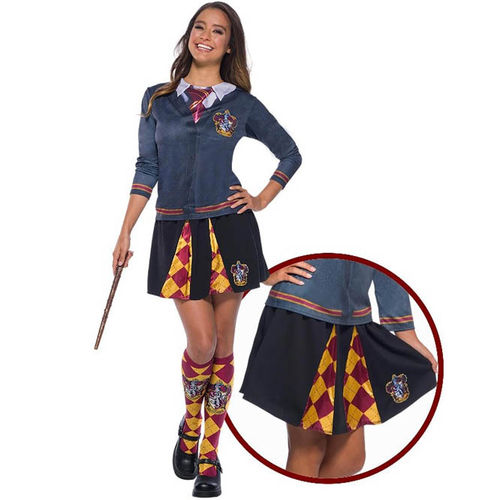 Falda Harry Potter Gryffindor para adulto