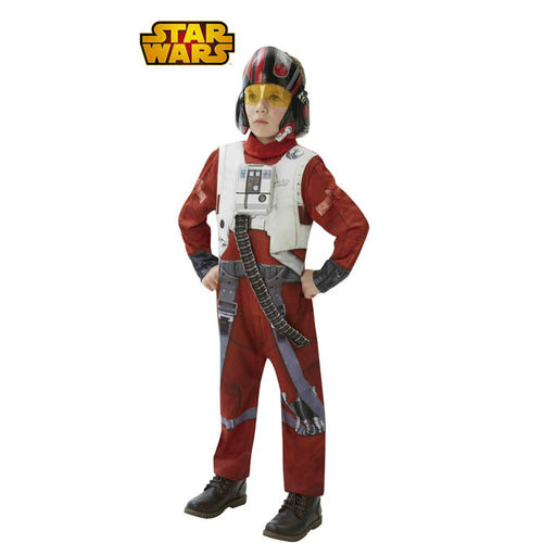Disfraz de Piloto X-Wing Fighter Deluxe Star Wars infantil
