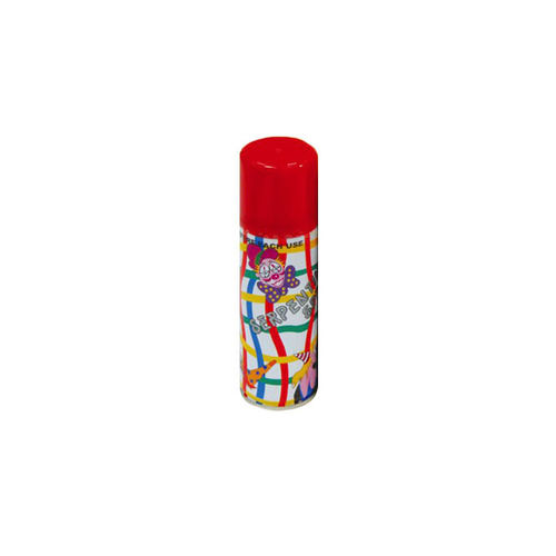 Spray Serpentina de 175 cc en color rojo