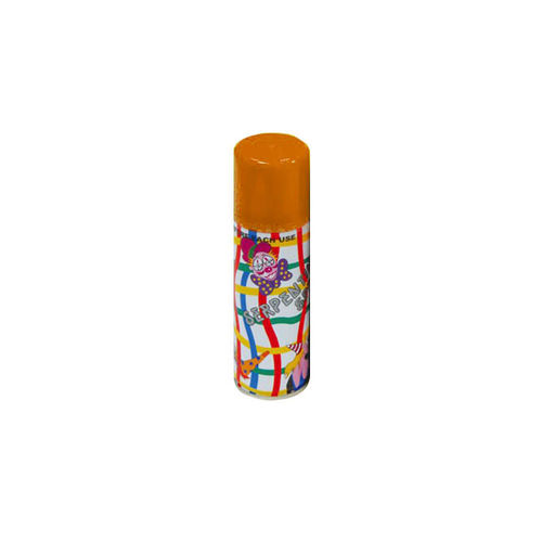 Spray Serpentina de 175 cc en color naranja