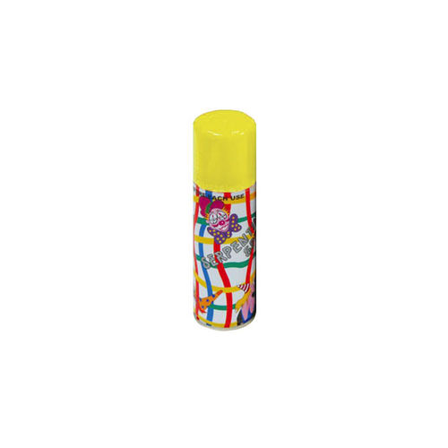 Spray Serpentina de 175 cc en color amarillo